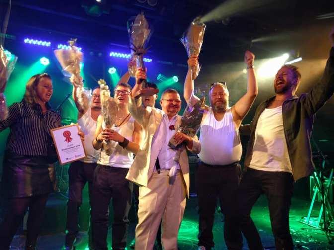 Grattis till segern, KjellBorwall & The Singels!