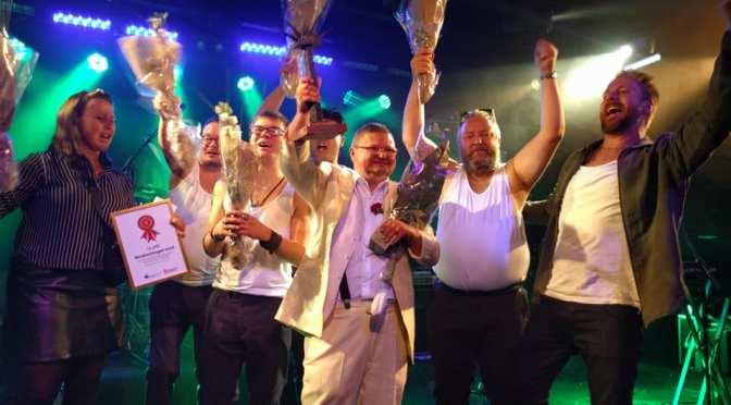Grattis till segern, KjellBorwall & Singlarna!